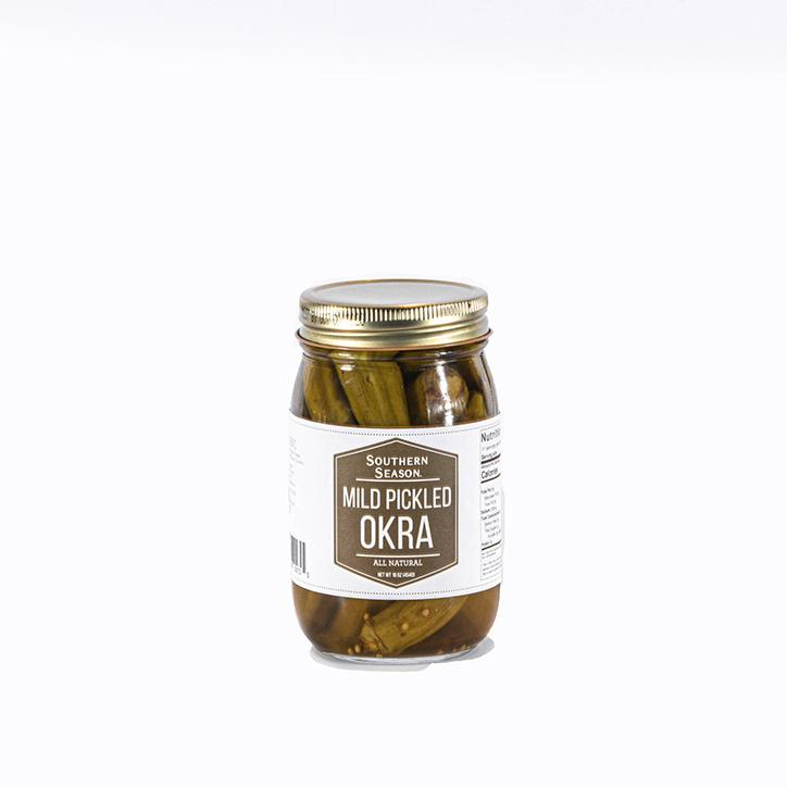 Southern Season Southern Season Mild Pickled Okra 16 oz