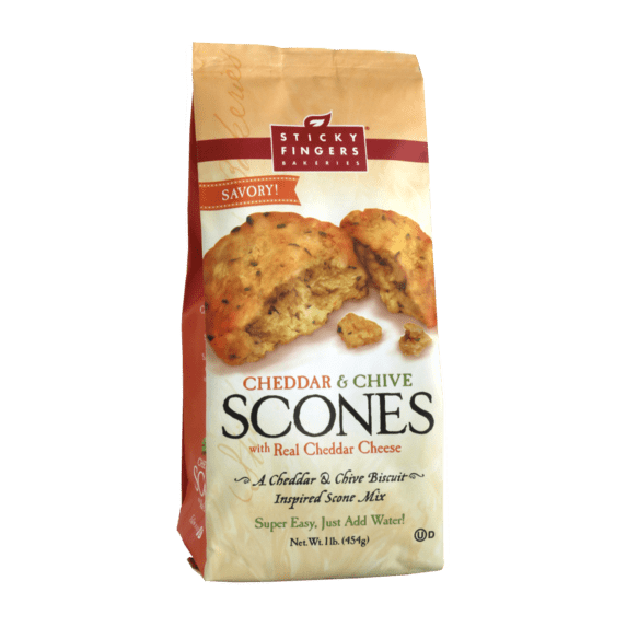 Sticky Fingers Bakeries Sticky Fingers Bakeries Cheddar & Chive Scone Mix 16 oz