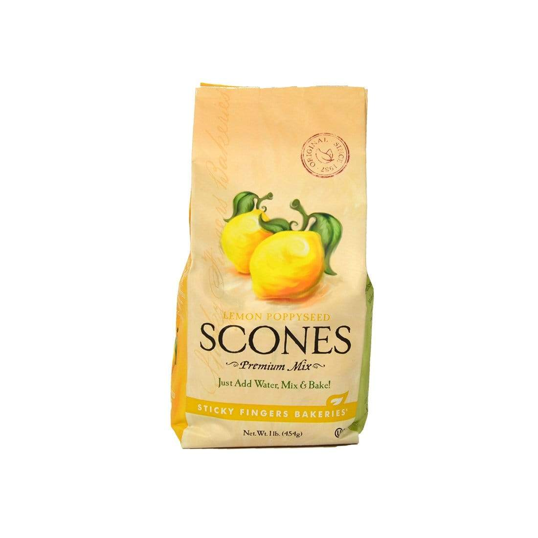Sticky Fingers Bakeries Sticky Fingers Lemon Poppyseed Scone Mix 15 oz