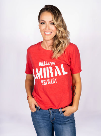 Admiral T-Shirt (Unisex Red)