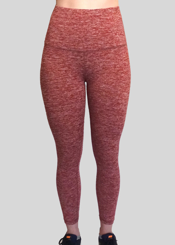 Heather Red ALTA Leggings