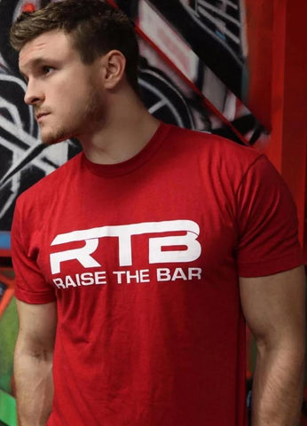 University Red Tee - ChelseaLifts ‌• RTB