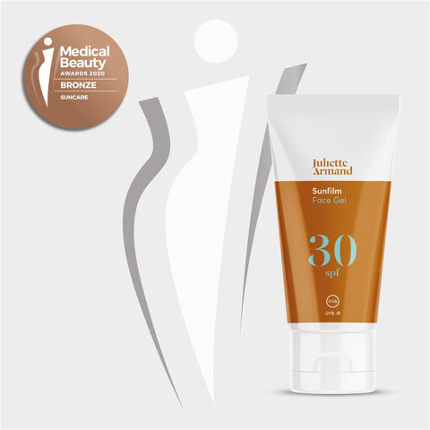 "SUNFILM SPF 30+ Gel "" Medical Beauty Award 2020"" Suncare - Juliette Armand - Shop"
