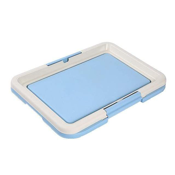 petsupersupply Blue / 47x34cm Portable Dog Training Toilet Tray pet love dog cat supplies fast delivery