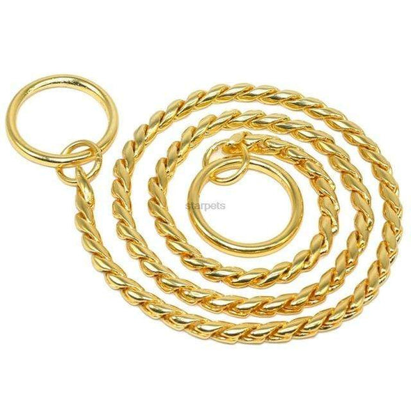 petsupersupply Gold / 40cm Metal Dog Chain pet love dog cat supplies fast delivery