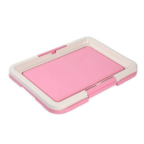 petsupersupply Pink / 47x34cm Portable Dog Training Toilet Tray pet love dog cat supplies fast delivery