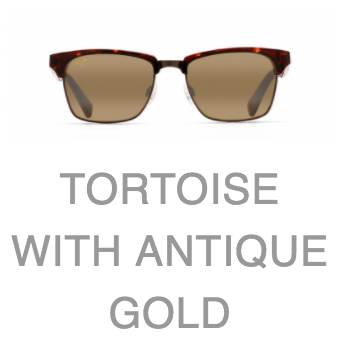 0777261dccb9 Maui Jim Kawika 257 Tortoise, Antique Gold with HCL Bronze Lens ...