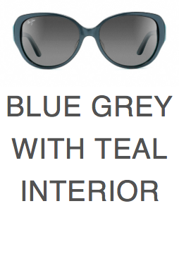 a6b6ce2abd Maui Jim Swept Away 733 Blue Grey with Teal and Neutral Grey Lenses ...