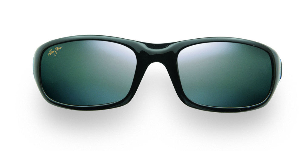 efaf1cb4e6 Maui Jim Stingray 103 Sunglasses span - Gloss Black with Polarized Neutral  Grey Lens