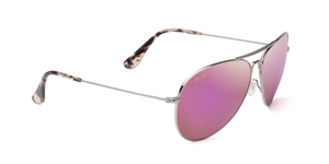 Maui Jim Mavericks 264 Sunglasses<span>- Rose Gold with Polarized Maui Sunrise Lens</span>