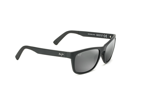 Maui Jim South Swell 775 Sunglasses<span>- Matte Black with Polarized Neutral Grey Lens</span>