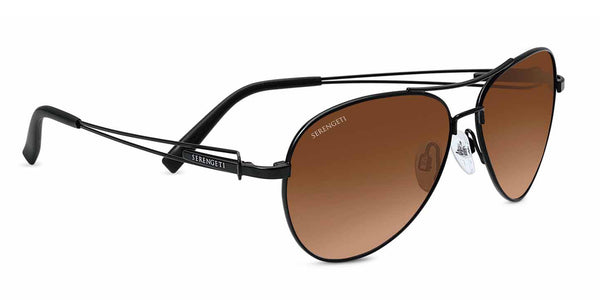 Serengeti Brando 7887 <span>- Drivers Gradient, Satin Black Non-Polarized, Photochromic Lenses</span>