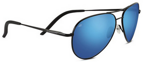 Serengeti Carrara 8295 <span>- Satin Black, Polarized 555nm (Blue), Photochromic Lenses</span>