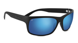 Serengeti Pistoia 8298 <span>- Satin Black Polar 555nm Blue, Photochromic</span>