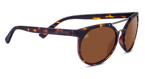 Serengeti Lerici 8356<span>- Satin Dark Tortoise/Satin Dark Gunmetal, Polarized Drivers
