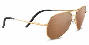 Serengeti Carrara 8546 <span>- Shiny Bold Gold, Polarized Drivers Photochromic Lenses</span>
