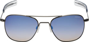 Randolph Aviator Single Vision Prescription Sunglasses<span> -Northern Lights (Gradient w/Mirror)</span>