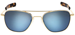 Randolph Colbalt Aviator Sunglasses<span>- Cobalt Blue Polarized Lenses </span>