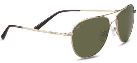 Serengeti Alghero 8542 <span>- Shiny Soft Gold, Polarized 555nm Photochromic Lenses</span>
