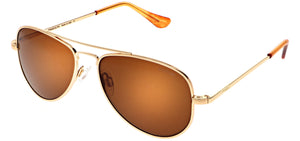 Randolph Concorde Sunglasses CR234 & CR235 <span>-23K Gold with American Tan Lenses</span>