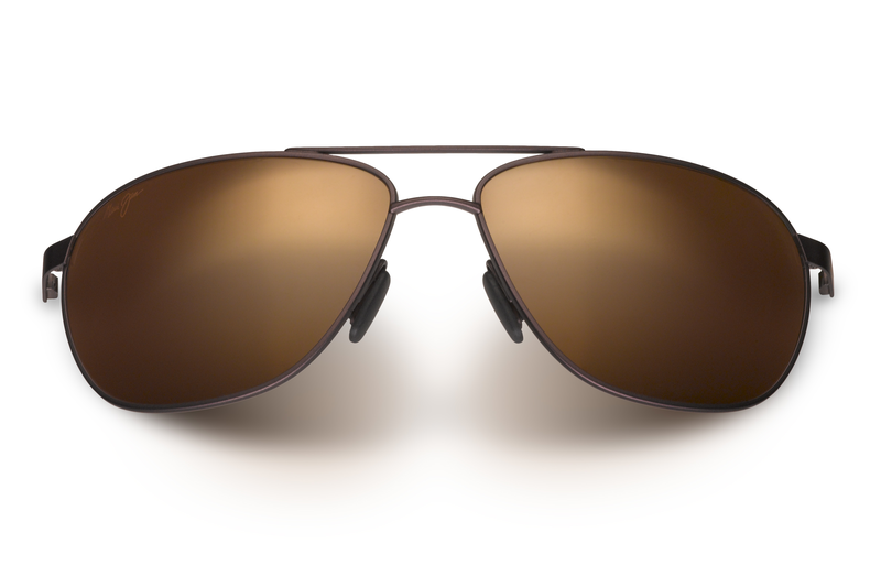 99460cbc30c5 Maui Jim Castles 728 Sunglasses<span>- Matte Chocolate with Polarized HCL  ...