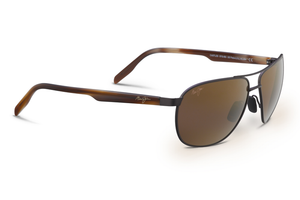 Maui Jim Castles 728 Sunglasses<span>- Matte Chocolate with Polarized HCL Bronze Lens</span>