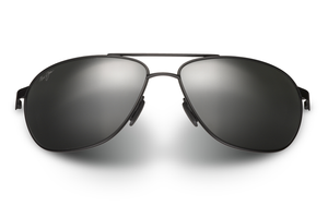 Maui Jim Castles 728 Sunglasses<span>- Matte Black with Polarized Neutral Grey Lens</span>