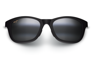 Maui Jim Hana Bay 434 Sunglasses<span>- Matte Black and Neutral Grey Polarized Lens</span>