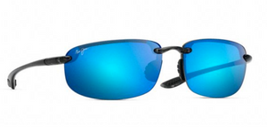 Maui Jim HO'OKIPA 407 Sunglasses<span>- Smoke Grey with Polarized Blue Hawaii Lens</span>