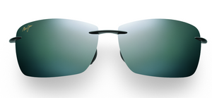 Maui Jim Lighthouse 423 Sunglasses<span>- Gloss Black with Polarized Neutral Grey Lens</span>