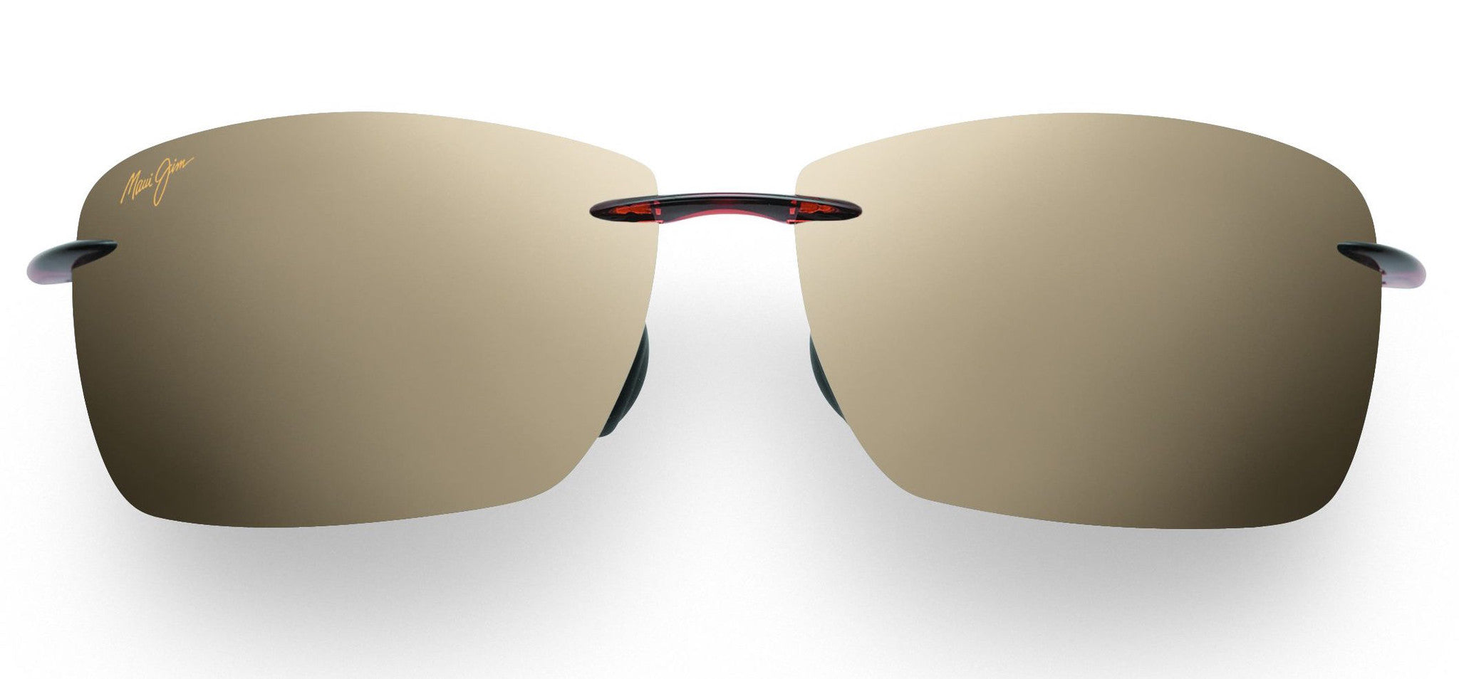 dbde64f53507 Maui Jim Lighthouse 423 Sunglasses span - Rootbeer with Polarized HCL ...