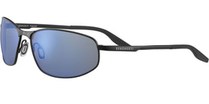 Serengeti Matera 8725<span> -Satin Black, Mineral Polarized 555nm Blue Lenses</span>