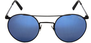 Randolph P3 Shadow Sunglasses PB010<span>- Matte Black, Blue Sky Flash Mirror Lenses</span>