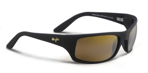 Maui Jim Peahi 202 Sunglasses<span>- Matte Black with Polarized HCL Bronze Lens</span>