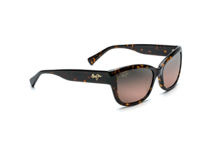 Maui Jim Plumeria 768 Sunglasses<span>-Dark Tortoise with Polarized Maui Rose Lens</span>