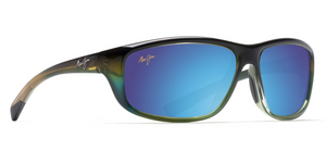 Maui Jim Spartan Reef 278 Sunglasses<span>- Mahi Mahi, Marlin, Matt Tortoise, Gloss Black</span>