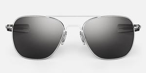 Randolph Aviator Sunglasses<span> -Bright Chrome</span>