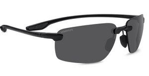 Serengeti Erice 8504 Sunglasses <span>-Shiny Black Polarized CPG (grey), Photochromic Lenses</span>