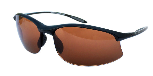 Serengeti Maestrale 7356 <span>- Satin Black, Polarized Drivers Photochromic Lenses</span>