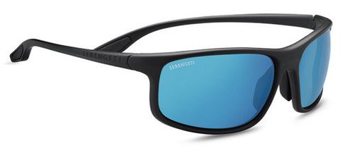 Serengeti Levanzo 8609 <span>- Sanded Dark Gray, Polarized 555nm Blue, Photochromic Lenses</span>