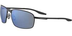 Serengeti Varese 8732<span> -Satin Black Mineral Polarized 555nm Blue</span>