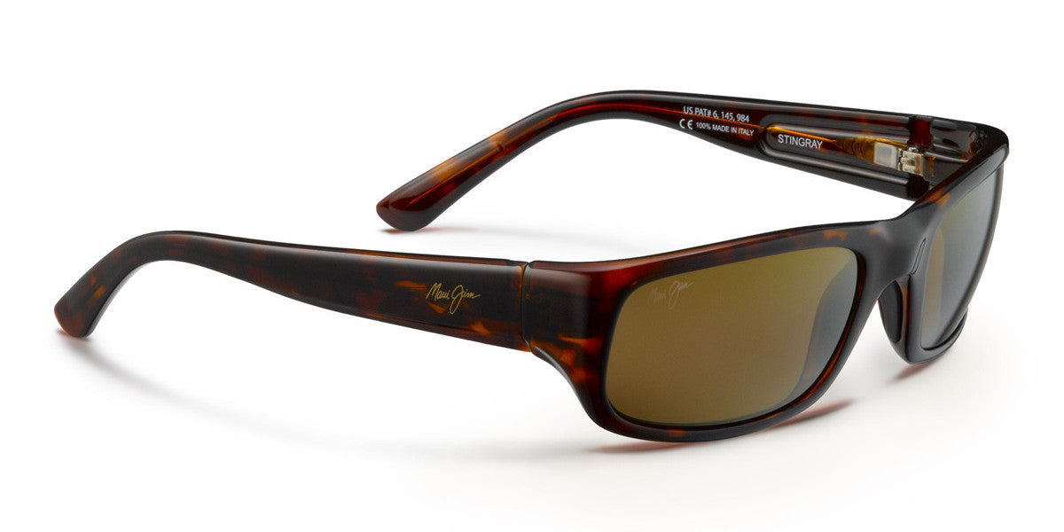 2634097d28 Maui Jim Stingray 103 Sunglasses- Tortoise with Polarized HCL® Bronze Lens