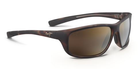 Maui Jim Spartan Reef 278 Sunglasses<span>- Matte Tortoise Rubber with Polarized HCL Bronze Lens</span>