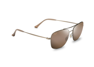 Maui Jim Lava Tube 786 Sunglasses<span>- Matte Gold with Polarized HCL Bronze Lens</span>