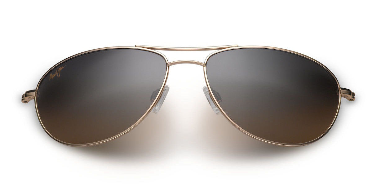 36cecfe1c41 Maui Jim Baby Beach 245 Sunglasses span - Gold with Polarized HCL Bronze  Lens