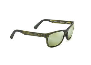 Maui Jim South Swell 775 Sunglasses<span>- Matte Green Stripe with Polarized Maui HT Lens</span>