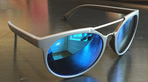 Serengeti Lerici 8354<span>- Satin Dark Grey/Satin Dark Gun, Polarized 555nm Blue
