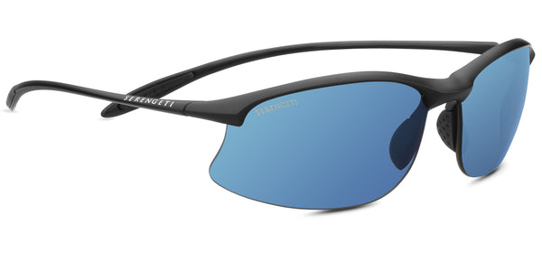 Serengeti Maestrale 8696 <span>- Polarized 555nm (blue), Satin Black, Photochromic Lenses</span>