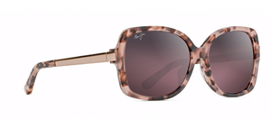 Maui Jim Melika 760 Sunglasses<span>- Pink Tortoise with Rose Gold Temples, Maui Rose Lens</span>