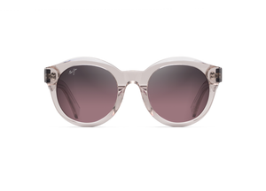 Maui Jim Jasmine 738 Sunglasses<span>- Crystal w/ Hint of Pink and Polarized Maui Rose Lens</span>